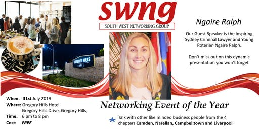 SWNG Networking Event