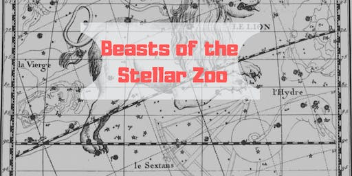 Beasts of the Stellar Zoo at Whitnash Library