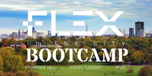 """FLEX BOOTCAMP SPECIAL @ Primrose Hill - Every Tuesday - 45"""" HIIT Workout"""