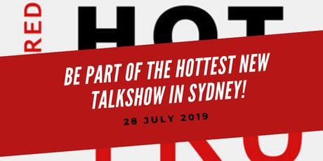 The Red Hot Truth Talkshow Audience tickets