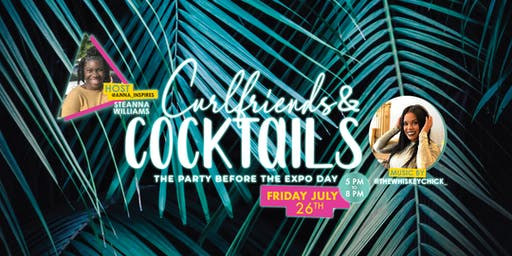 Curlfriends + Cocktails | (PBC Curlfriends Natural Hair Event) #PBCC19 - South Florida