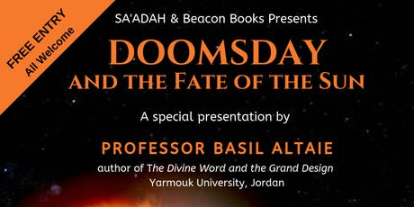 Doomsday and the Fate of the Sun tickets