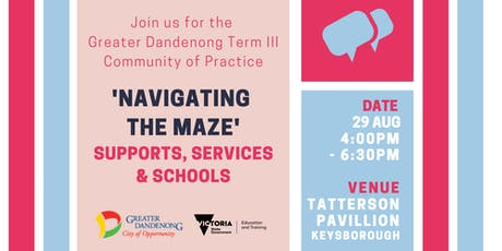 Greater Dandenong Term Three Early Childhood Community of Practice tickets