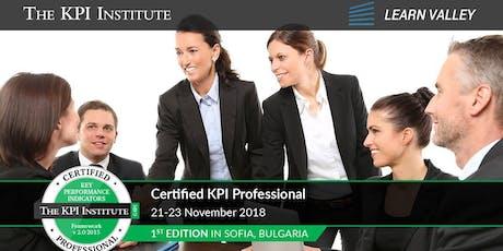 Certified KPI Professional tickets