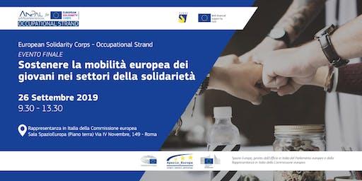Sostenere la mobilità europea dei giovani nei settori della solidarietà