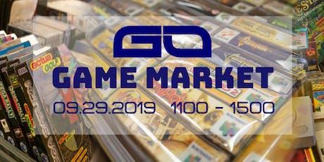 GO Game Market September 2019 tickets