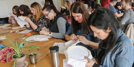 Share a Stitch: Embroidery Workshop  tickets