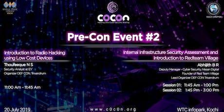 Pre-Con Event #2 tickets