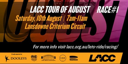 LACC Tour Of August Season Pass