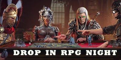Wacky Wednesday Drop in RPG Night