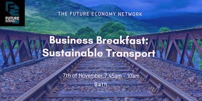 Business Breakfast: Sustainable Transport