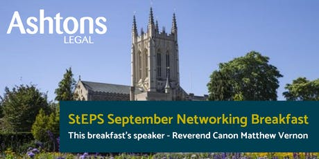 StEPS September Networking Breakfast tickets