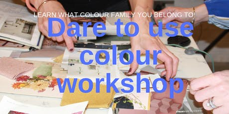 Dare To Use Colour Workshop tickets