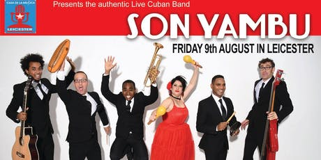 """""""LIVE CUBAN SALSA BAND IN LEICESTER"""" tickets"""