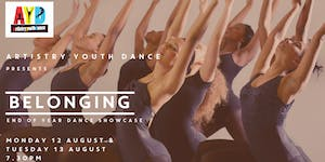 Artistry Youth present 'Belonging', End of Year Dance...