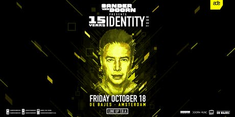 Sander van Doorn presents 15 Years of Identity (ADE) tickets