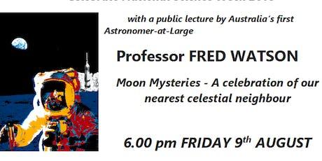 Fred Watson - Moon Mysteries tickets