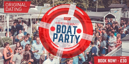 The Original Dating Rock The Boat - Summer Boat Party