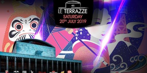 Le Terrazze Eur Roma Sabato 20  Luglio 2019