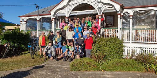 Brisbane Valley Rail Trail fully supported 3-Day Spring Cycling Tour