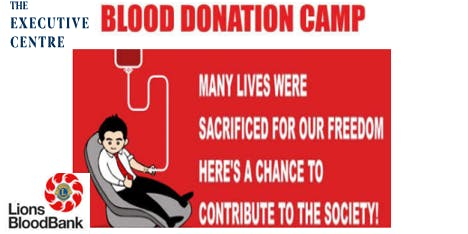 Blood Donation Camp - Anybody Can Give Blood