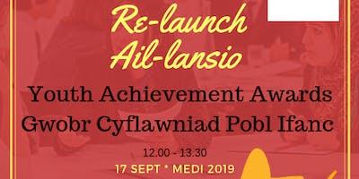 Re-launch Youth Achievement Award (South) - Ail-lansio Gwobr Cyflawniad Pobl Ifanc (De)