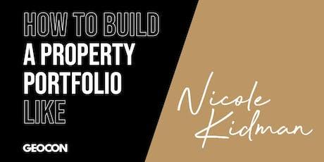 How To Build A Property Portfolio Like Nicole Kidman - Lunch & Learn tickets