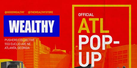 Wealthy Atlanta Pop Up Shop tickets