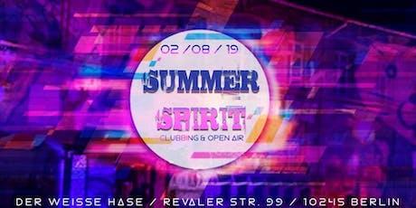 ★ Summer Spirit ★ Clubbing + Open Air ★ Berlin Techno ★ Tickets