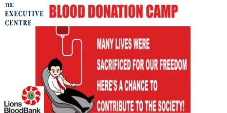 Blood donors are life savers