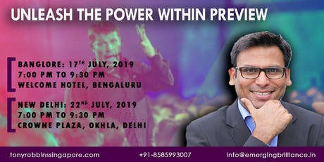 Unleash the Power Within Preview tickets