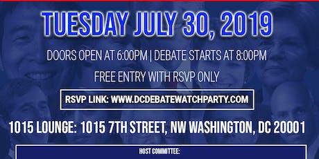 DC Democratic Debate Watch Party - Night 1  tickets