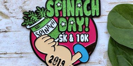 Now Only $10! Spinach Day 5K & 10K-Nashville tickets