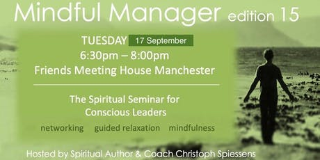 Mindful Manager (edition 15) tickets