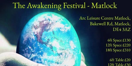 Matlock Spiritual Awakening Festival Workshop Ticket Saturday Only tickets