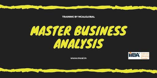 Master Business Analysis