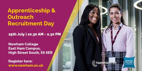 Apprenticeship and Outreach Recruitment Day tickets