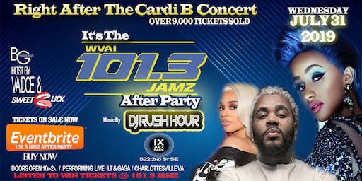 AFTER PARTY '' 101.3 JAMZ '' After the Cardi B Concert