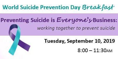 World Suicide Prevention Day Breakfast
