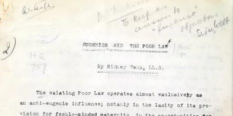 In the archives: Social Biology and Eugenics at the LSE tickets