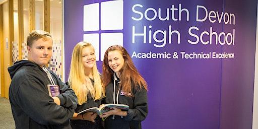South Devon High School Parent Information Evening