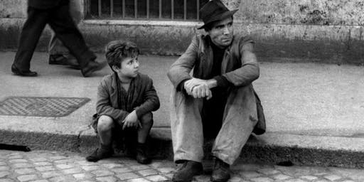 Salon Italia. Bicycle Thieves (Ladri di biciclette) by Vittorio De Sica