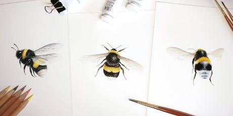 Bee Watercolour Workshop tickets