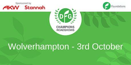 DFG Champions Roadshow Wolverhampton tickets