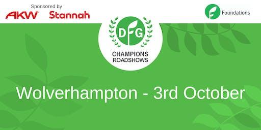 DFG Champions Roadshow Wolverhampton