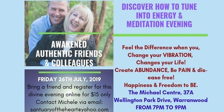 Discover How To Tune Into Energy and Meditation with Michele Hansen tickets