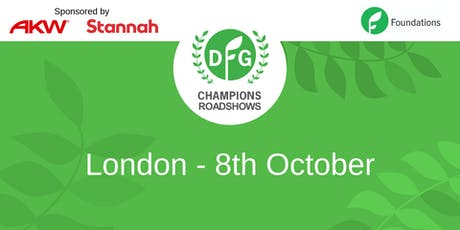 DFG Champions Roadshow London tickets