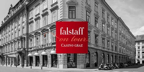 Falstaff on tour: Bar & Spirits im Casino Graz Tickets