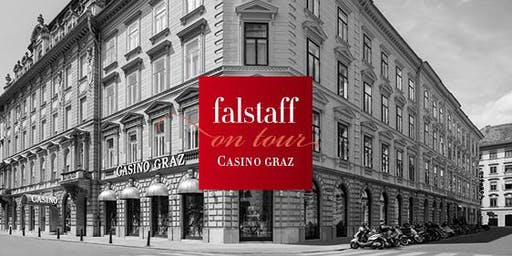 Falstaff on tour: Bar & Spirits im Casino Graz