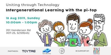 Intergenerational Learning with the pi-top (Raspberry Pi) tickets
